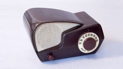 "Radio Philco. Transitone. Model 49-501 ""Boomerang"" 1949"