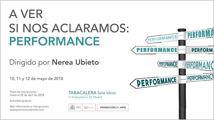 A ver si nos aclaramos: Performance